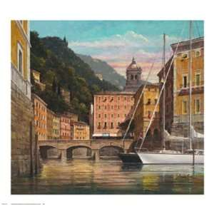 Italia   Bella Donna by Lee Reynolds Burr . Art PRINT Poster 30.00 X