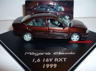 VITESSE RENAULT MEGANE CLASSIC 1.6 16V RXT 1999 1/43°