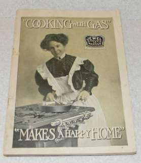 1900s Jewel Stoves and Ranges Detroit Michigan Cooking with Gas