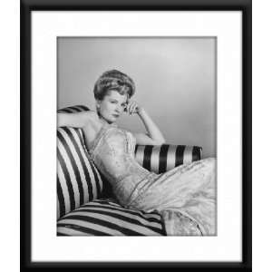 Joan Fontaine Framed And Matted 8x10 B&W Photo Home