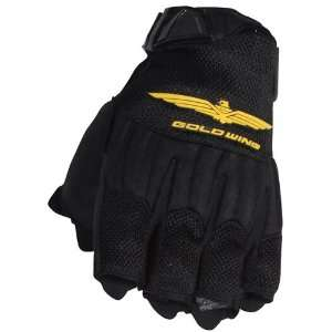 JOE ROCKET BLUE RIDGE WOMENS GOLD WING GLOVES BLACK SM