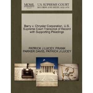 Pleadings (9781270336624): PATRICK J LUCEY, FRANK PARKER DAVIS: Books