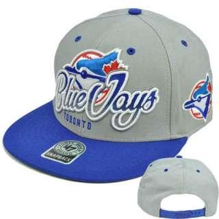 Seven Brand Snap Back Wool Tricky Lou Hat Cap MLB Toronto Blue Jays