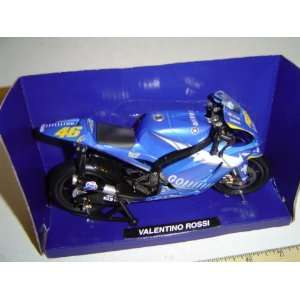 Yamaha YZR M1 Motorcycle Valentino Rossi Toys & Games