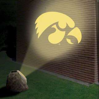 Iowa Hawkeyes Logo Projection Rock