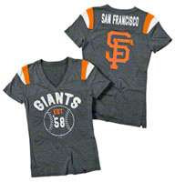 San Francisco Giants Womens Tops, San Francisco Giants Womens T Shirts