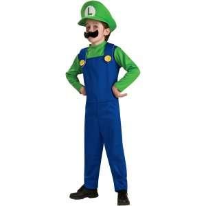 Super Mario Bros. Luigi Toddler/Child Costume, 65025