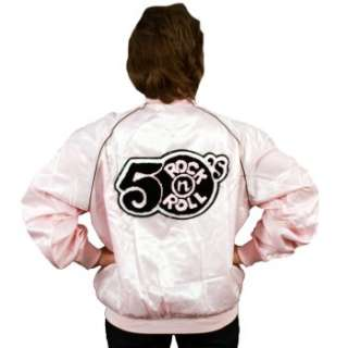 Pink Satin 50s Rock N Roll Jacket Adult Costume Ratings & Reviews