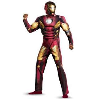 Halloween Costumes The Avengers Iron Man Mark VII Muscle Adult Costume
