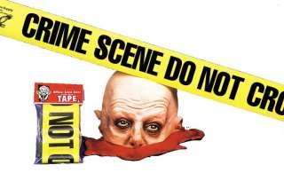 Crime Scene Tape, Do Not Cross   Decorations & Props