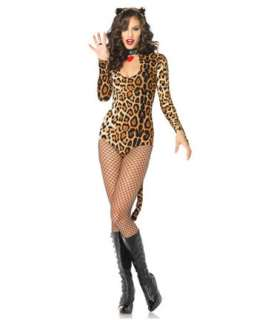 Womens Sexy Wicked Wildcat Cougar Costume  Wholesale Cats Halloween