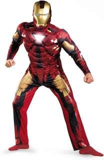 Iron Man 2 Movie   Iron Man Mark 6 Classic Muscle Adult Costume
