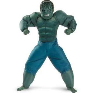 The Incredible Hulk 2008 Movie Inflatable Child Costume   Includes