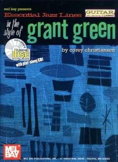 Essential Jazz Lines Of Grant Green Guitar Tab Book Cd