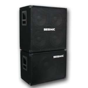 Seismic Audio   4x10 & 1x15 BASS GUITAR SPEAKER CABINET