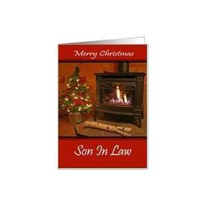 Son In Law Merry Christmas Card Card Health & Personal
