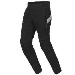 Mens Waterproof On Road Racing Motorcycle Pants   Black / X Large