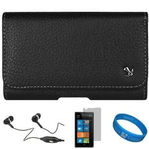 Pouch Case with Belt Clip for AT&T Nokia Lumia 900 Windows Smartphone