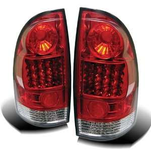 + Hi Power White LED Backup Lights   Red Clear (Pair) Automotive