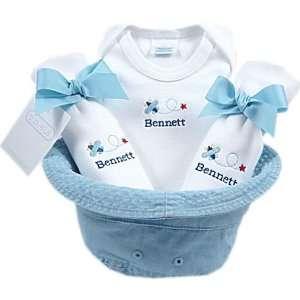 baby boy gift basket bucket