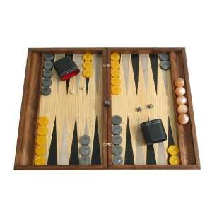 Hand crafted Backgammon Board Game Set with Racks (Wood
