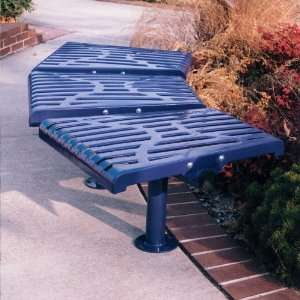 Classic Backless Commercial Grade Park Bench Patio, Lawn & Garden