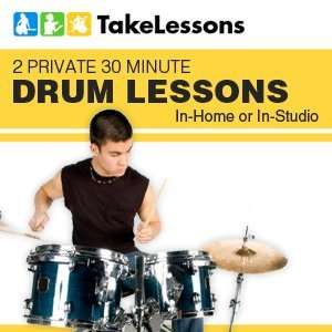 Private 30 Minute Drum Lessons In home or In Studio