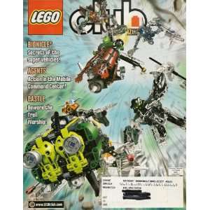 LEGO CLUB Magazine January   February 2008   Includes Bionicle Battle