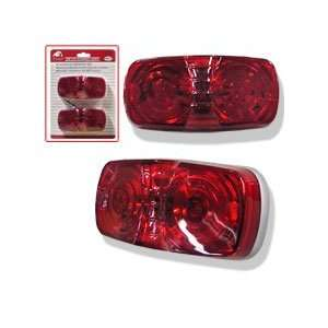 New Red 12V Marker boat truck trailer Tail Light Kit