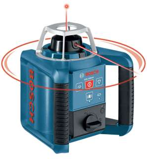Bosch's GRL 300 HV rotating laser has rapidly self leveling lines