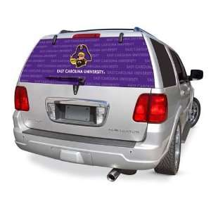 East Carolina Rear Window Rearz Sticker   Decal Sports