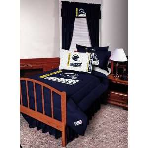 NFL San Diego Chargers Complete Bedding Set Queen Size