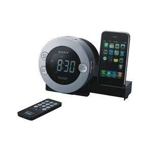 Clock Radio Ipod Iphone Dock Dual Alarms Digital Am Fm