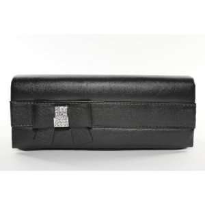Black Sophisticated Clutch Evening Purse with High Quality
