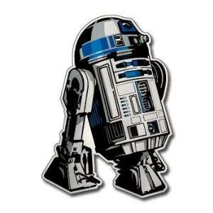 R2 D2   STAR WARS   CHROME   Sticker Decal   #M035