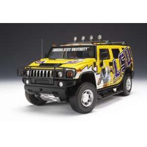 LSU Tigers Football Hummer® H2 Diecast Car/truck 118 Toys & Games