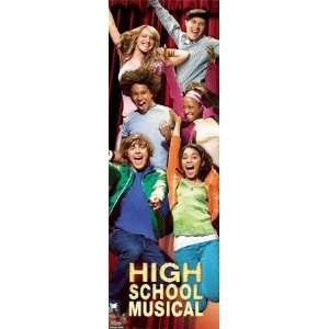 Door Poster Disney High School Musical 20x60
