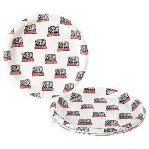 Crimson Tide Disposable Plastic Plates (12 Pack)