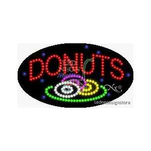 Donuts LED Sign Office Products