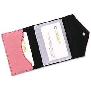 Rolodex Resilient Pink Personal Card Case ROL1734451
