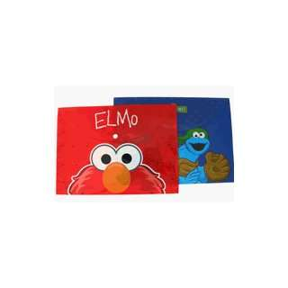 Street Elmo Envelop Folder w/ Snap button (2 pcs set) Toys & Games