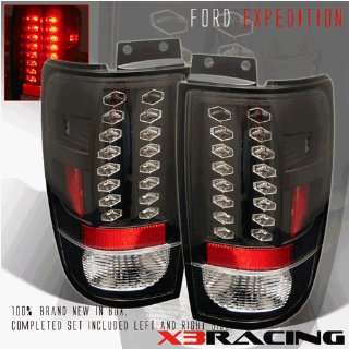 Ford Expedition Led Tail Lights JDM Black LED Taillights