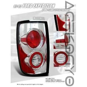 Ford Expedition Tail Lights Euro Flare Style Taillights 1997 1998 1999
