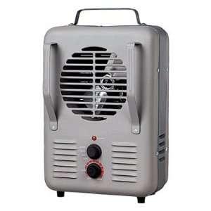 Soleil Utility Heater Fan Forced 750 / 1500 W Gray