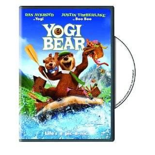 Cartoon Icon Yogi Bear, Deluxe Figure Set with Bonus Dvd, Playset Toy