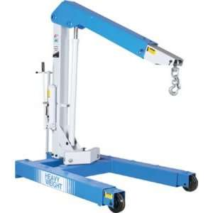 6,000 lb. Capacity Floor Heavy Duty Crane With Hand Pump Automotive