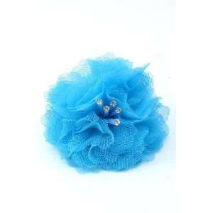 Fashion Jewelry Elegant Flower Hair Clip Pin Brooch Clothing Hats