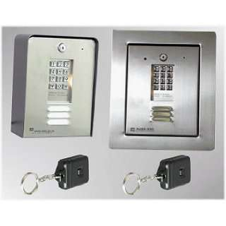 Steel Entry System   Single Tenant With Radio Receiver and Transmitter