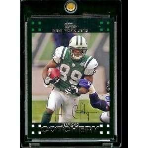 Football # 168 Jerricho Cotchery   New York Jets   NFL Trading Cards