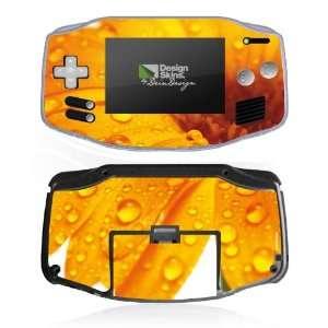 Design Skins for Nintendo Game Boy Advance   Flower Drops